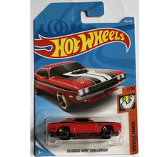 New Arrivals 2018 8h Hot Wheels 1:64 70 dodge hemi challenger Car Models Collection Kids Toys Vehicle For Children hot cars(China)