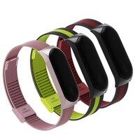 Bracelet Mi Band 3 Strap Wrist Metal Screwless Stainless Miband 3 Steel Wristbands Miband3 Pulseira For Xiaomi Mi Band 3 Strap