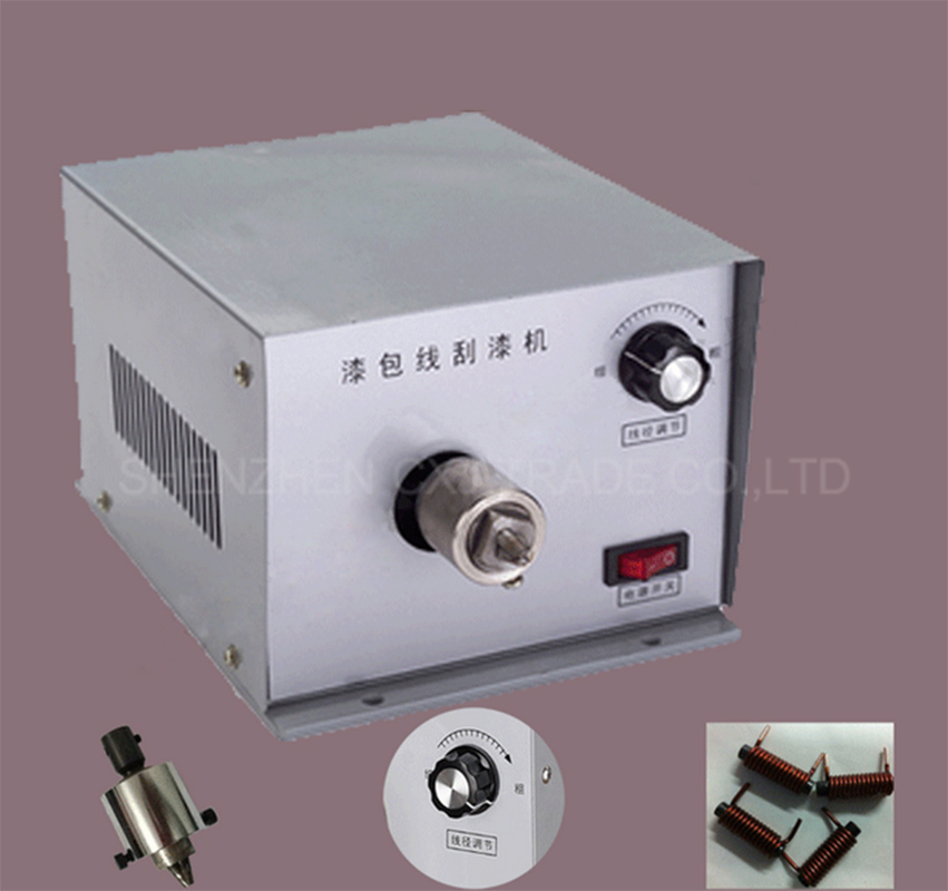 1pc XC-500 Enamelled Wire Stripping Machine, Enameled Copper Wire Stripper, Varnished Wire Stripper 1pc enameled wire stripping machine varnished wire stripper enameled copper wire stripper xc 0312