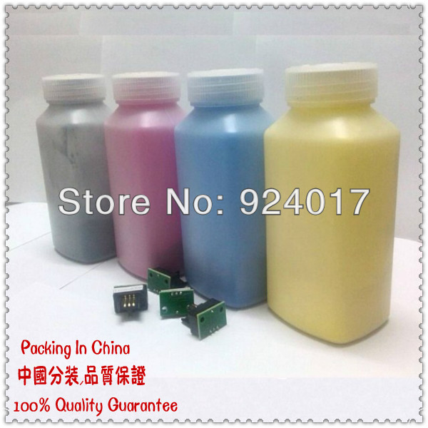 Physical Powder Toner For HP Color Laserjet CP3525 CP4525 Printer,Bottled Toner Powder For HP 504A CE250A CE251A/2A/3A CP4025