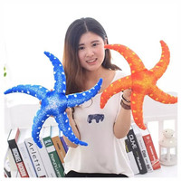 40cm Stuffed Sea Animal Toys Baby Kids PP Cotton Plush Starfish Toys Doll Hot Children Sear