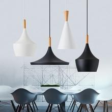 Modern nordic minimalist pendant light creative lron LED hanging light kitchen dinner room cafe room bar lamp indoor lights e27 цена