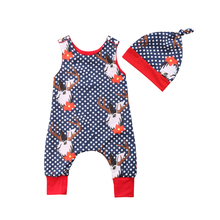 цена на IMCUTE Newborn Bodysuits Patchwork Color Jumpsuit Baby Girls Polka Dot Overalls Clothes with Hat