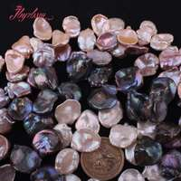 15 20mm Baroque Freshwater Pearl Beads Natural Stone Loose Beads For DIY Necklace Bracelets Jewelry Making 14.5 Free Shipping