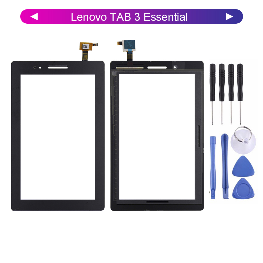 High Quality For Lenovo TAB 3 Essential 710L 710i 710F Tab3 710 TB3-710L TB3-7 Touch Screen Digitizer Panel Glass Sensor + Tools