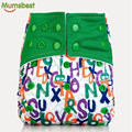 [Mumsbest] New Washable Baby AIO Cloth diaper With Microfiber Insert For Baby Boy & Girl Reusable Adjustable Cloth Diapers Nappy