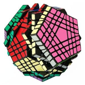 Image 4 - Shengshou Teraminx Cube 7x7 Wumofang 7x7x7 Magic Cube Professional Dodecahedron Cube Twist Puzzle Educational Toys