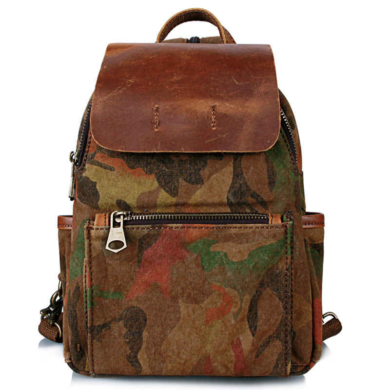 moda bolsa de lona impressa Luggage Trends : Backpack