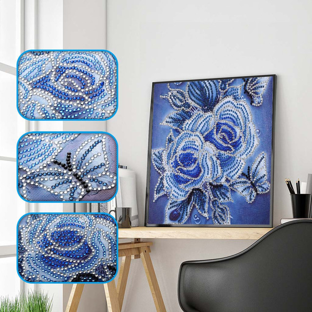 Special Shaped Diamond Painting DIY 5D Partial Drill Cross Stitch Kits Crystal R 2019 New products selling well