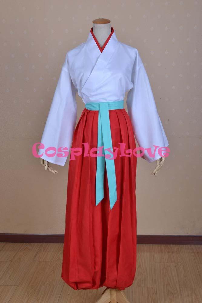 Kamisama Love Hajimemashita Nanami Momozono Kimono Cosplay Costume (10)