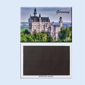 Германия neuschwanstein замок Бавария Романтический 22811 подарки для друзей сувениры для путешествий креативный холодильник