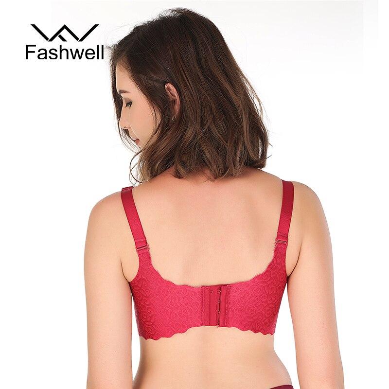 42c87db81f65c Fashion Hollow Solid Bra Wanita Push Up Bra Sexy Bra Celana Dalam Seamless  Kawat Gratis Bra untuk Wanita Hot Dijual di Bras dari Pakaian Dalam    Pakaian ...