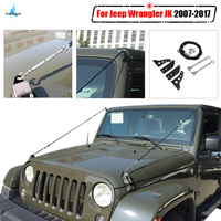 For Jeep Wrangler JK Limb Riser Kit Obstacle Eliminate Rope Protector Deflect Low Hanging Branches Brush 2007 2017 WISENGEAR /
