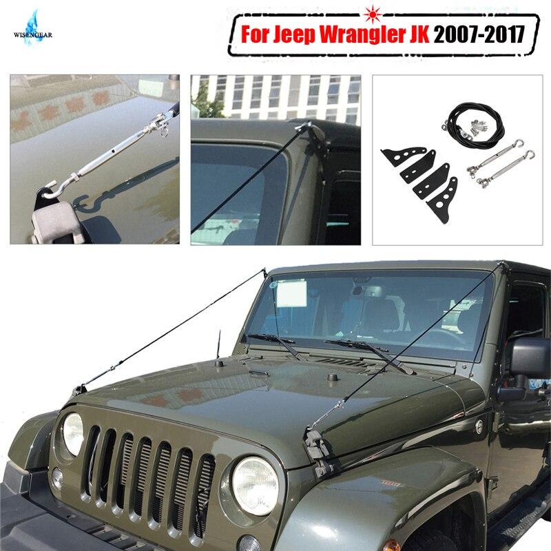 Pour Jeep Wrangler JK Limb Riser Kit Obstacle éliminer corde protecteur dévier basse suspension Branches brosse 2007-2017 WISENGEAR/