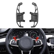 Для VW GOLF GTI R GTD GTE MK7 7 POLO GTI Scirocco- металлическое Автомобильное рулевое колесо весло для замены