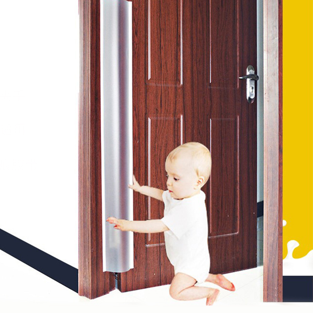 Child Safe Protection Strip  Seamless Baby Anti-Grip Protector Door Protect Double-Sided Paste Child Safety Protection Strip