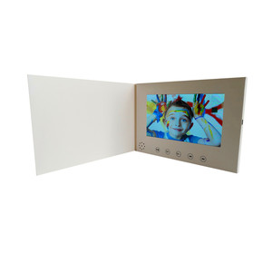 Image 2 - 7 אינץ מסך 8 GB חוברת אוניברסלי וידאו ברכה כרטיסי אופנה עיצוב וידאו פרסום כרטיסי צפייה חוברת (hyh 3070)