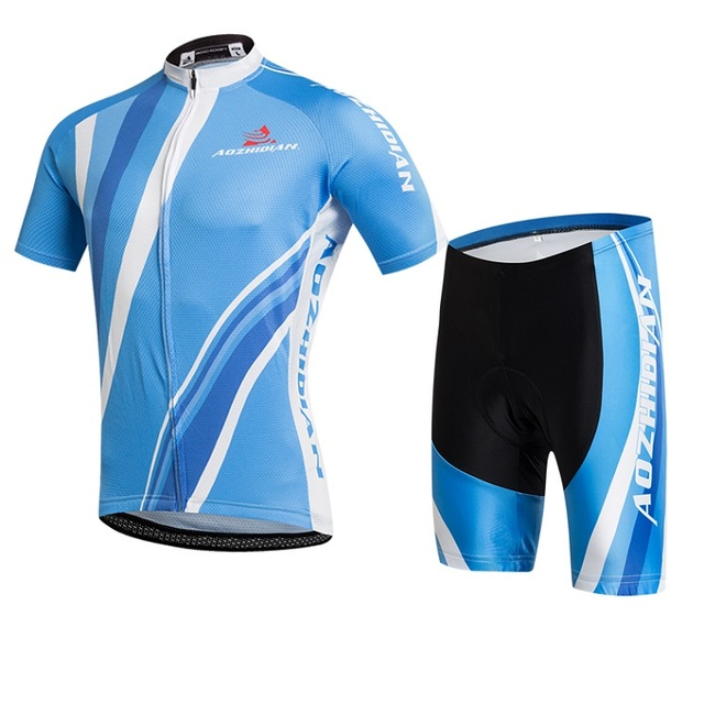 100% Polyester Cycling Jersey Short Sleeve Breathable Rangers Jersey   Atletico Madrid Jerseys Summer Bike Clothes Cycle Shorts 8df7e64e8