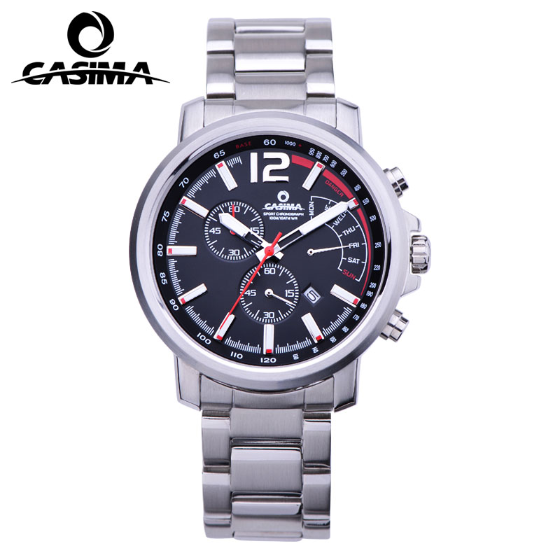 New Luxury Brand CASIMA Men Watch reloj hombre Casual Sport Men Quartz Watch Luminous Waterproof Male Watches montre homme цена