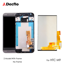 For HTC ONE M9 LCD Display Touch Screen With/No Frame Digitizer Full Assembly Replacement 100% Tested Original 5.0 Inch Black все цены