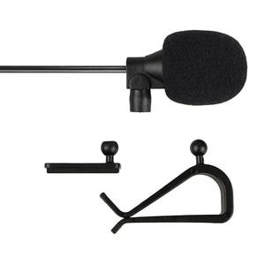 Image 4 - Auto Audio Mikrofon 3,5mm Clip Jack Stecker Mic Stereo Mini Wired Externe Mikrofon Für Auto DVD Radio 3m lange Profis