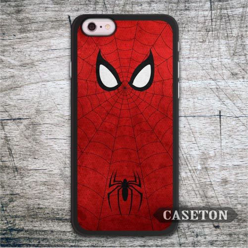 Classic Spider Man Cover Case For iPhone 7 6 6s Plus 5 5s SE 5c 4 4s and For iPod 5 High Quality Hero Phone Cover Free Shipping
