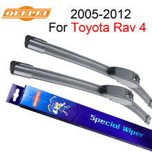 QEEPEI Wiper Blades For Toyota Rav 4 2005 2006 2007 2008 2009 2010 2011 2012 Windshield Wiper Auto Car Accessories front and rear wiper blades for toyota rav4 2005 2006 2007 2008 2009 2010 2011 2012 windshield windscreen car accessories
