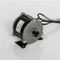 500w/36v/48V MY1018E high speed brush motor with belt pulley ,brush motor for electric tricycle, Electric Scooter motor, MY1016