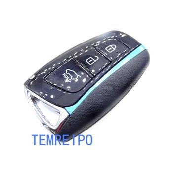 10pcs/lot key shell for Hyundai smart remote control key case Genesis 2013-2015 Santa Fe 2014-2015 Equus 2015 Azera key cover