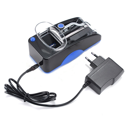 EU Plug Rechargeable Electric Automatic Cigarette Rolling Machine Tobacco Injector Maker Roller DIY Smoking Tool Drop Shipping