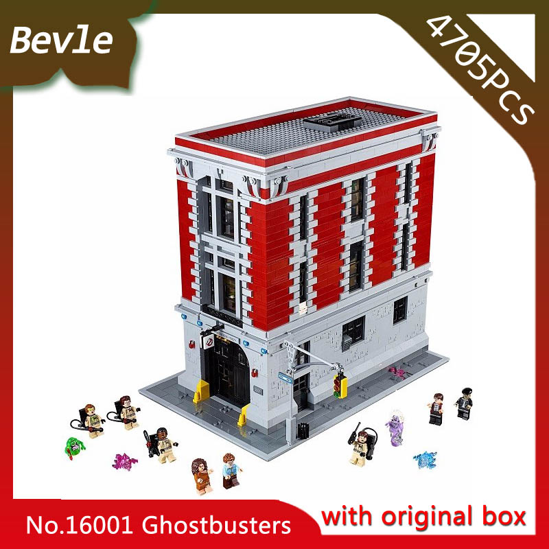 Bevle Store LEPIN 16001 4695Pcs With Original Box Movie Series host busters Firehouse Headquarters Building Children Toys 75827 bevle store lepin 22001 4695pcs with original box movie series pirate ship building blocks bricks for children toys 10210 gift