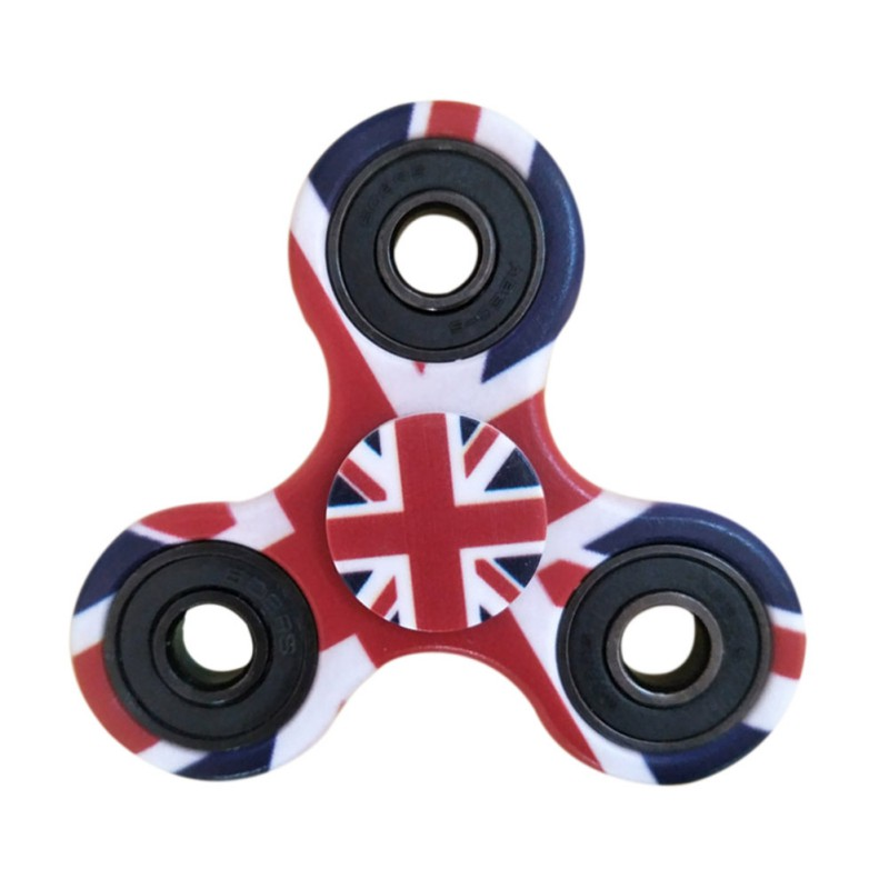 Printing EDC Round Three Corner Camouflage Hand Spinner For Autism and ADHD Anxiety Stress Relief Focus Toys For Children new style edc round three corner camouflage hand spinner for autism and adhd anxiety stress relief focus toys