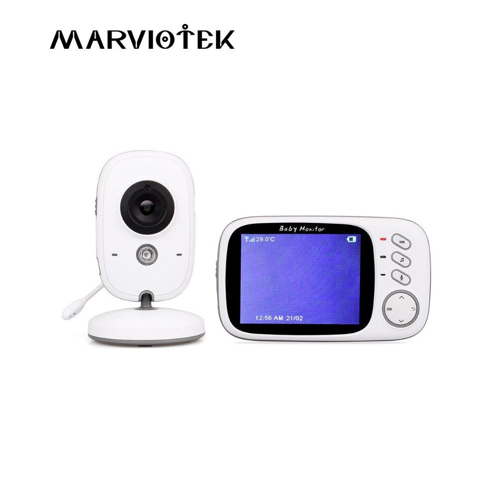 Video Baby Monitor a colori wireless baba elettronica baby monitor di visione notturna 2 vie parlare monitor 3.2 pollice LCD macchina fotografica Del Bambino wifi