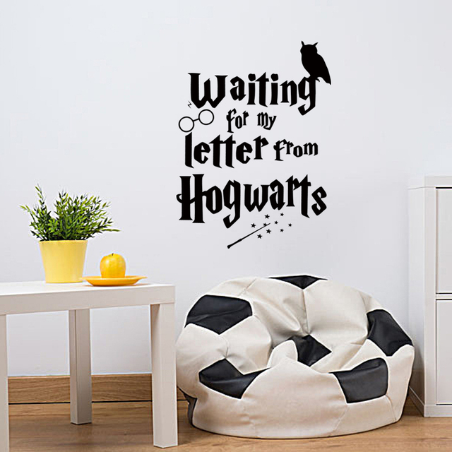 custom vinyl decal wall sticker wizard in training sticker hogwarts