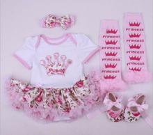 22 inch newborn baby girl clothes suit newborn clothing gift handmade new baby clothes baby girl clothes cheap COTTON Polyester Fashion O-Neck Sets Pullover Short REGULAR Fits true to size take your normal size Canvas Coat Floral