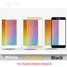 3D Curved Edge Tempered Glass On The For Xiaomi Redmi Note 5A Screen Protector For Xiaomi Redmi Note 5A 32g 64g Protective Film(China)