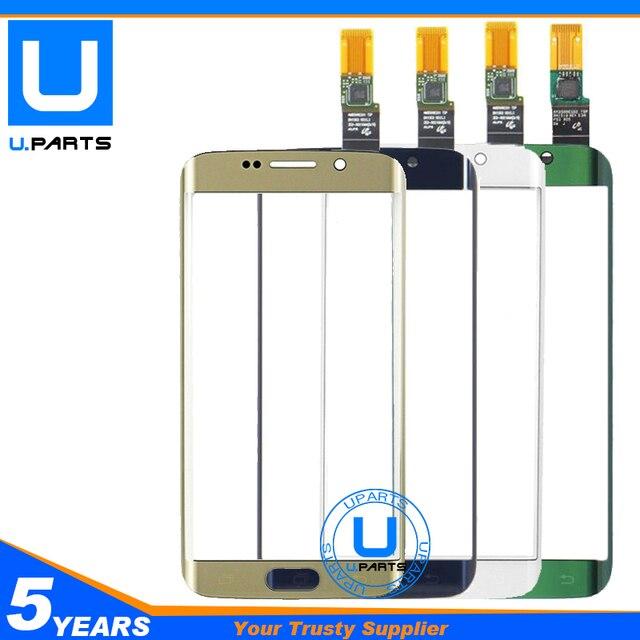 Для Samsung Galaxy S6 Edge G925A G925F G925K G925P G925X G925 Сенсорный Экран Спереди Дигитайзер Панели 1 Шт./лот