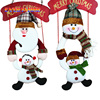 2016 Merry Christmas 1x Christmas Decoration Santa Claus Snowman Christmas Tree Ornaments Hanging Toys For Home
