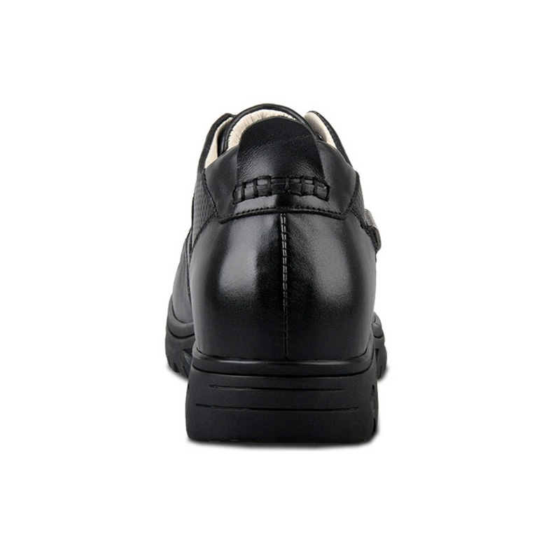 c202f84866e Προϊόν - X9675 100% Genuine Leather Height Increasing Elevator Shoes with  Hidden Insole Inserts Elevated Men Taller 8cm