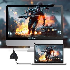Image 4 - HDMI сплиттер Amkle Mini 3 порта, USB адаптер, кабель 1,4b 4K 1080P, переключатель HDMI, 3 в 1, концентратор портов для HDTV, Xbox, PS3, PS4