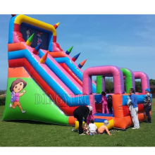 China inflatable slide for bouncer commercial kids  ,inflatable in with