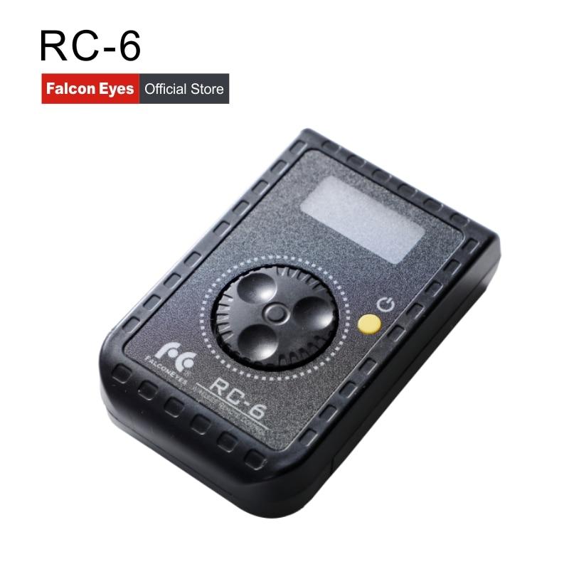 Falcon Eyes รีโมทคอนโทรล RC 6 โรตารี่สำหรับ Led กล้องวิดีโอ RX 12TD RX 18TD & SO 28TD/48TD/68TD soft Light-ใน อุปกรณ์เสริมสำหรับสตูดิโอถ่ายภาพ จาก อุปกรณ์อิเล็กทรอนิกส์ บน AliExpress - 11.11_สิบเอ็ด สิบเอ็ดวันคนโสด 1