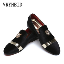 VRYHEID 2019 New Big Size Mens Loafers Slip on Men Leather Shoes Luxury Casual Fashion Trend Brand Wedding