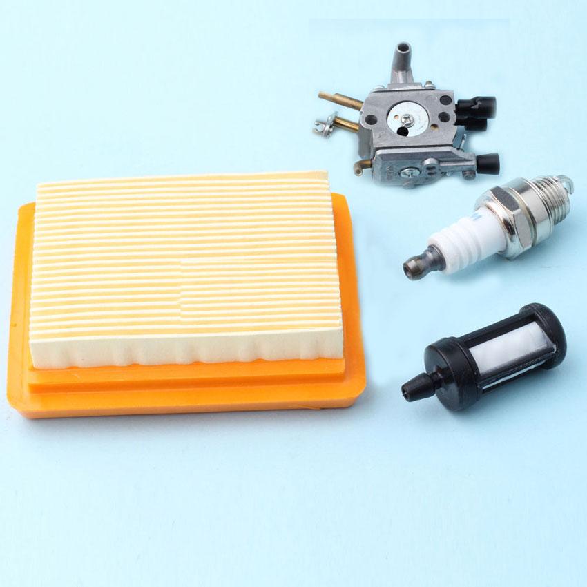 Carburetor Air Fuel Filter For Stihl FS400 FS450 Rep 4134 141 0300 Trimmer ZAMA C1Q-S154