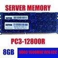 Server Speicher 8 gb 2Rx4 PC3-12800R REG ECC RAM 1,5 v 240-Pin 16 gb 24 gb DDR3 1600 mhz RDIMM für Server & workstation