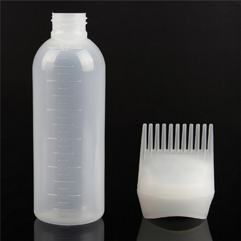 3953631cfe Aliexpress.com : Buy New Hair Styling Dye Liquid Filling Bottle 120ml  Applicator with BrushHairstyling Hairdressing Water Dispensing Hair Salon  Tool from ...
