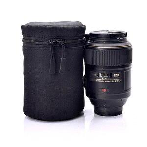 Image 4 - Étui de luxe étanche protecteur objectif caméra sac pour Sony a5100 a6000 Canon 1300d Nikon D7200 P900 D5300 DSLR pochette