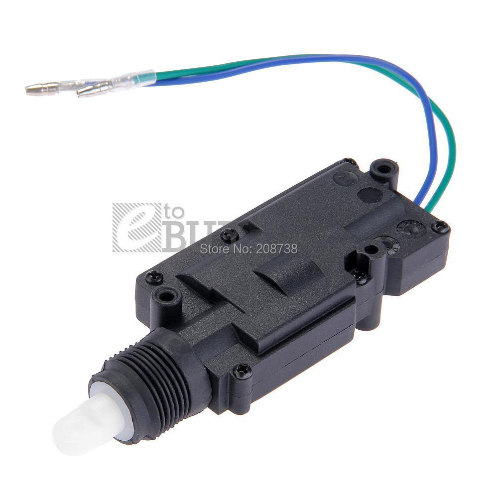 Car Auto Universal Heavy Duty Power Slave Door Lock Actuator Motor 2 Wire 12V