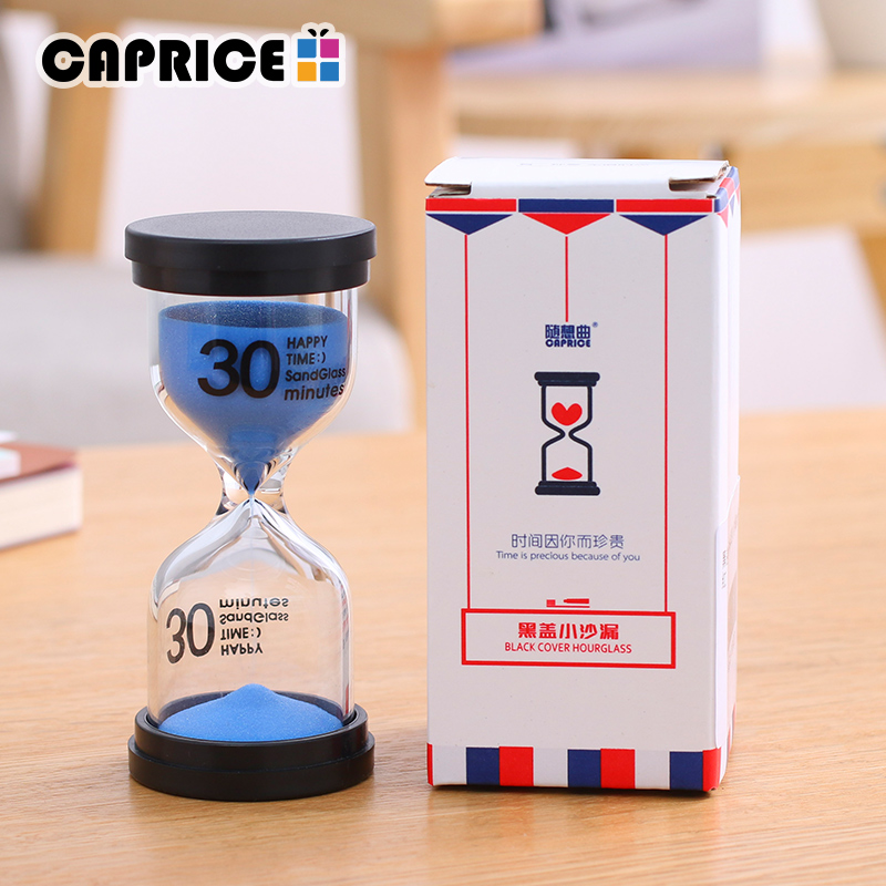 Hourglass 60 Minute Sand Watch 30 Minutes Timer Clock One