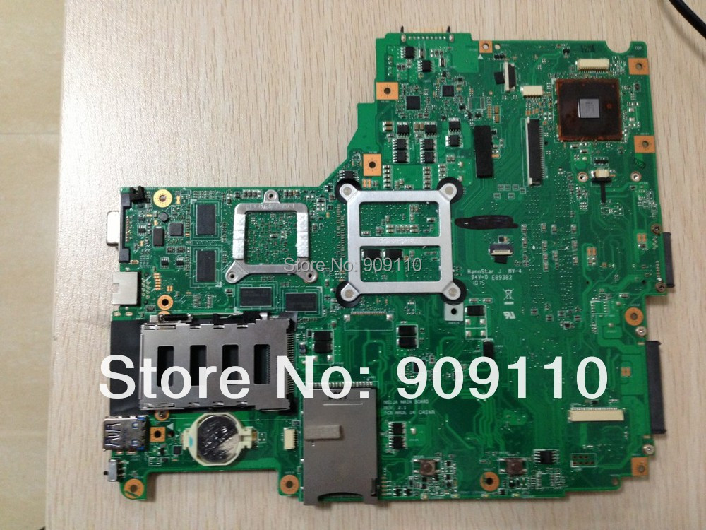 N61JA non-integrated motherboard for asus laptop N61JA full test